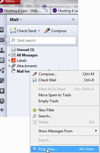 Opera 10 for Windows Email Support