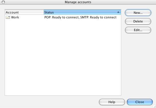Opera 8 for Mac Email Support