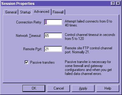 WS_FTP Tutorial